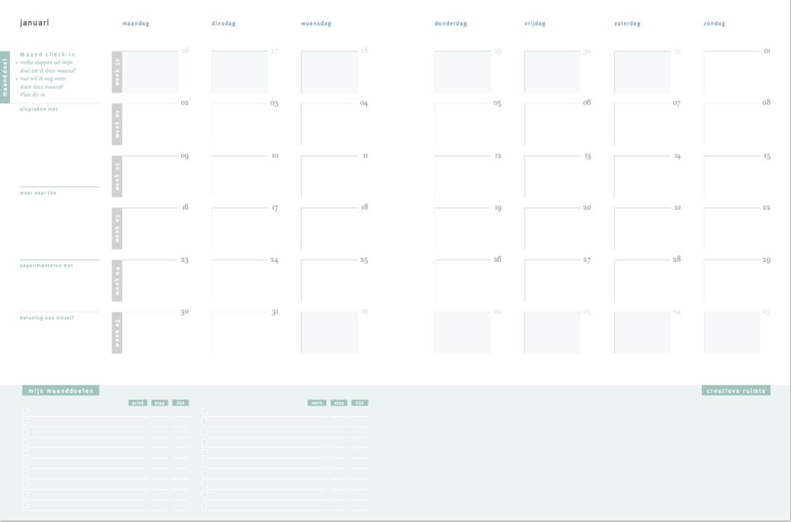 Purpuz-Planner-Agenda-Planning-maand