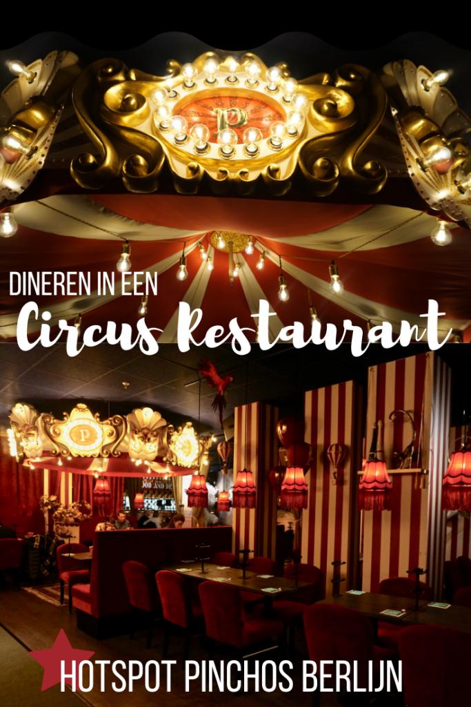 Pinchos: dineren in een circus restaurant in Berlijn