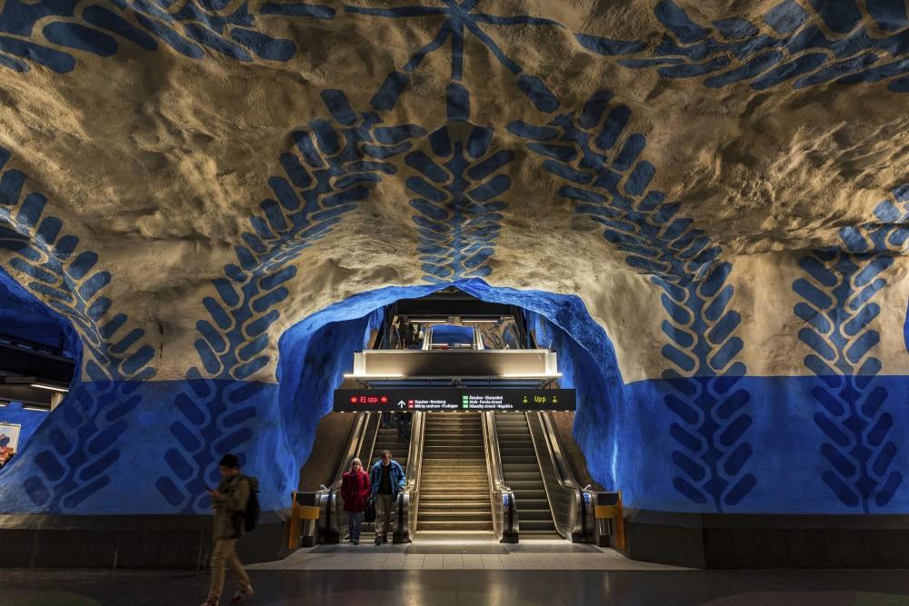 De unieke subway stations van stockholm