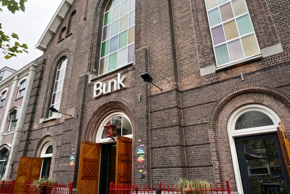 Bunk Utrecht: verblijven in een oude kerk.