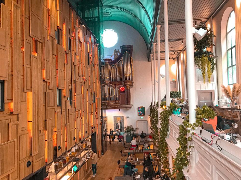 Bunk Utrecht: verblijven in een oude kerk