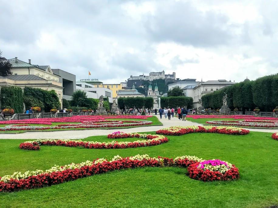 Mirabellgarten - 7 Sound of Music filmlocaties in Salzburg, Oostenrijk